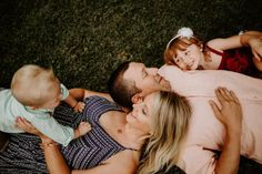 spring family photos | family of four