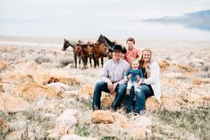 I LOVE when I get to take pictures of this cute family! Rodeo family pictures were a must for this family! Horses are a big part of their family! Western Family Photos, Farm Family Pictures, Cute Family Photos, Western Photo, Family Picture Outfits, Horse Photography, Family Photography, Engagement Photography, Country Couples