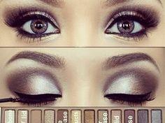 bronce de maquillaje de ojos