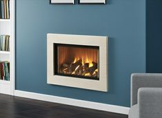 Hole in the Wall Cassette Gas Fires 2 Gas Wood Burner, Wood Burner Fireplace, Home Fireplace, Fireplace Ideas, Inset Stoves, Open Wall, Gas Fires, New Living Room, Colour Schemes