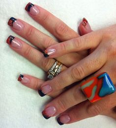 Harley Davidson nails..... Had this done to my nails last time ...