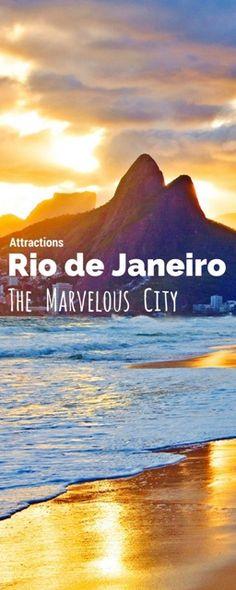 Rio de Janeiro: The Marvelous City