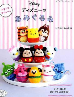 DISNEY Tsum Tsum Amigurumi Characters  Japanese by pomadour24