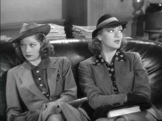 Lucille Ball and Eve Arden in Stage Door (1937)