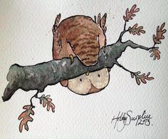"""owl by Holly Surplice  """"Whoooops!!"""""""
