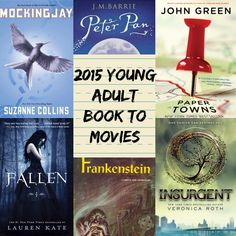 2015 Young Adult Book To Movie Adaptations.jpg read breathe relax