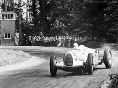 Things really heated up when the German government, eager to demonstrate their technological might in a tense pre-war political climate, soon began funding both Mercedes and Auto Union to the annual equivalent of several million dollars apiece. The Silver Arrows were coming, and they would be literally unbeatable until the outbreak of war halted the wheeled deathgames in 1939.