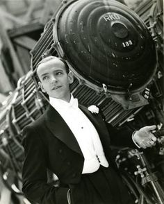 Fred Astaire - perfect outfit for a train trip from London to Barcelona