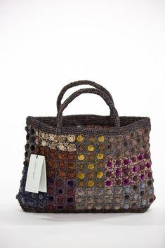 Sophie Digard   Velvet Spot Raffia Bag   Fig Fig, Appreciation, Velvet, Textiles, Construction, Deep, Shoulder Bag, French, Colour