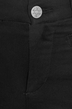 M.i.h Jeans - Marrakesh Frayed Cropped Mid-rise Flared Jeans - Black - 30