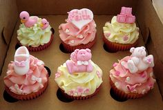 Baby shower cupcakes the cupcake recipe
