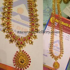 Jewellery Designs: Gundla Mala with Auspicious Stones