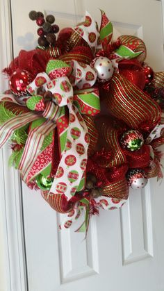 Christmas wreath I created