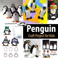 Penguin - Craft Project for Kids