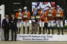 Holanda sumó una nueva victoria en la Longines FEI Nations Cup Jumping Final de Barcelona, al completar su recorrido en solo 1 falta.