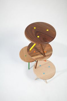 Soft Side Table by Curtis Popp (top view)