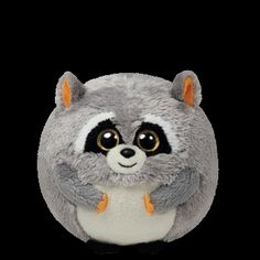 Ty Beanie Ballz Mischief Raccoon
