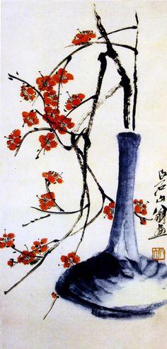 Творчество китайского художника Ци Бай-ши.