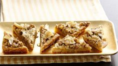 Love classic Baklava? Here's an easy way to get the same Greek signature flavors using cookie mix and crushed fillo shells.