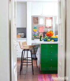 #kellygreen kitchen cabinets