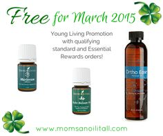 Earn FREE Young Living Products for March 2015! Learn more at www.momsanoilitall.com :)