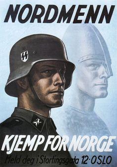 Propagande pour les volontaires SS norvégiens.