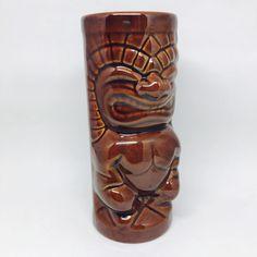 Mai Kai Tiki Mug Mara Amu Punch Aloha Hawaiian Ft Lauderdale Brown Ceramic