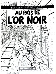 Clerc - Tintin au pays de l'Or Noir