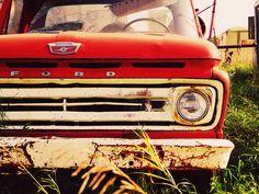 Old trucks. <3