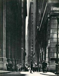 Alexander Alland - Canyon, New York City, c1939.