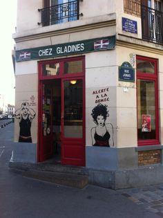 Butte aux cailles, Paris 13eme, rue Jonas.