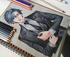 Mystic Messenger- Jumin Han #Otome #Game #Anime. Susanghan Messenger. Amazing pencil drawing