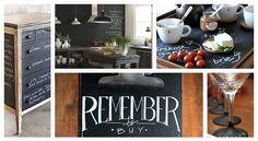 Ένας μαυροπίνακας στο σαλόνι μας Kitchen, Home, Cooking, Kitchens, Ad Home, Homes, Cuisine, Haus, Cucina