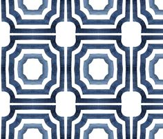 LATTICE slate fabric by cest la viv on Spoonflower - custom fabric