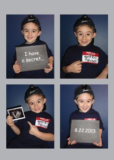 Sibling/ Big Brother Announcement