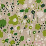 Hokkoh Linen Floral Green [IMPORT-61-740-4D] - $25.95 : Pink Chalk Fabrics is your online source for modern quilting cottons and sewing patterns., Cloth, Pattern + Tool for Modern Sewists