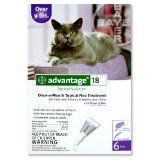 Advantage Topical Solution Flea Treatment for Cats Over 9 Pounds, 6 Applications (Misc.)By Advantage