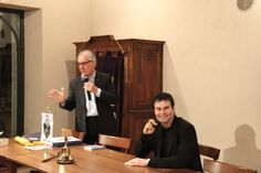 Il Presidente Valerio E. Alfonso presenta Mario Furlan