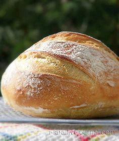ДОМАШНИЙ ПШЕНИЧНЫЙ ХЛЕБ: 5 МИНУТ В ДЕНЬ У анонсированного в предыдущем посте хлеба, который придумали Зоэ Франсуа (Zoe Francois) и Джефф Гертцберг (Jeff Hertzberg), есть название: Artisan Bread in Five Minutes a Day. Пять минут в день... Чуть ли не по мановению волшебной…