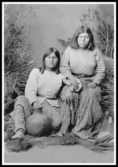 Cochise Daughter | Bridget and Susan, both daughters of the great Chief Cochise...