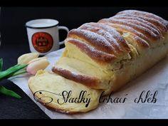 Sladký trhací chléb (Nedělní) | Videorecept | Dvě v troubě | CZ/SK HD recipe - YouTube Food And Drink, Bread, Sweet, Youtube, Kuchen, Simple, Candy, Brot, Baking
