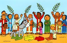 Intrede Jezus in Jeruzalem op Palmzondag