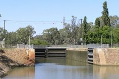 Lock 11 on the Murray River