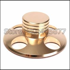 50.00$  Watch here - http://ai96d.worlditems.win/all/product.php?id=32661637243 - 1PC Soft Gold HiFi Record Player Weight LP Disc Stabilizer Turntable Vinyl Clamp