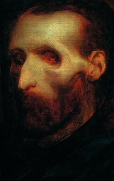 """blackpaint20: """" One of my favorite Self Portraits Theodore Gericault's Last Self Portrait as a Dying Man, 1824 Gericault's riveting self portrait foreshadows his physical disintegration coming through..."""