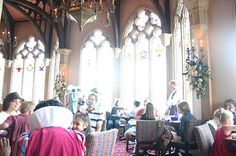 Eat at Disney World's Cinderella restaurant  (i always wanted to do that as a little kid)