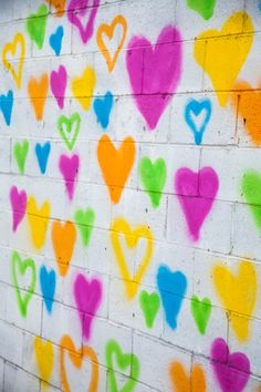 Heart Mural by Uncustomary