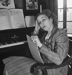 "Dorothy Fields, lyricist for more than 400 songs, including ""The Way You Look Tonight,"" ""Big Spender,"" ""On the Sunny Side of the Street,"" ""A Fine Romance"" and ""I Can't Give You Anything but Love."" First woman to win an Oscar for songwriting."