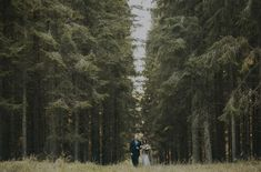most epic, long and gorgeous walk down the aisle in Sweden!