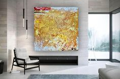 Abstract Oil Painting On Canvas Modern Oil Painting Hand image 3 Modern Oil Painting, Large Painting, Oil Painting Abstract, Abstract Wall Art, Large Canvas Wall Art, Extra Large Wall Art, Oversized Wall Art, Colorful Artwork, Office Wall Art